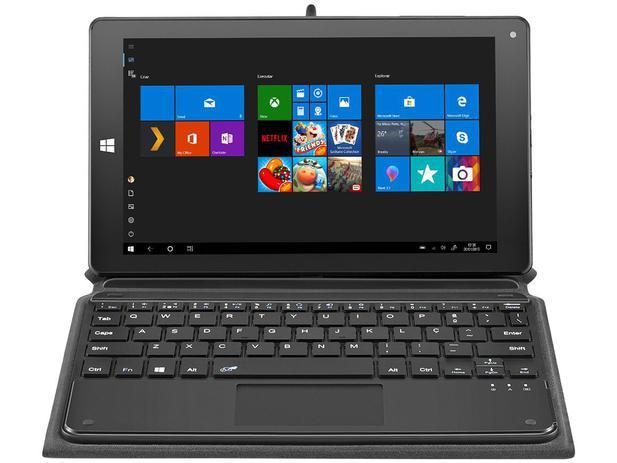 "Tablet Multilaser M8W Plus 32GB 8,9"" Wi-Fi - Windows 10 Proc. Quad Core Câmera Integrada"