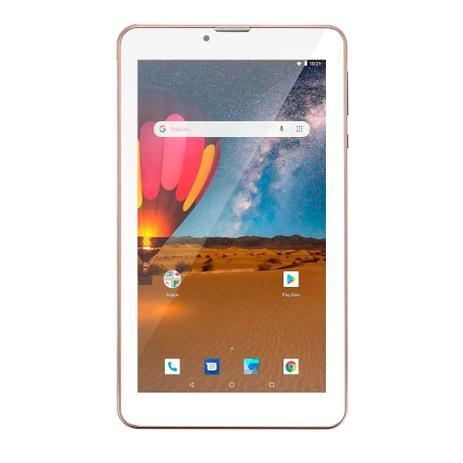 86eaf28cef Tablet Multilaser NB305 M7 Wi Fi 3G Plus 16GB Quad Core Rosa ...