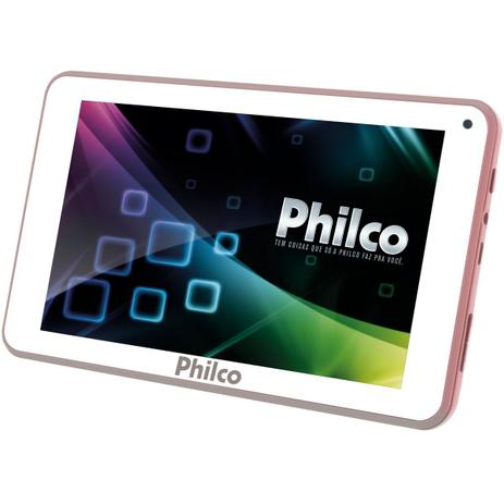 "Imagem de Tablet Philco PTB7QRG 8GB 7"" Wi-Fi - Android 7.1.2 Nougat Quad Core"