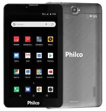 Imagem de Tablet Philco PTB7QSG 3G Preto