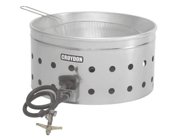 Imagem de Tacho de fritura a gás de alta pressão 7 litros com cesta - tfap