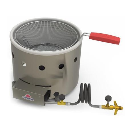 Imagem de Tacho Fritura Fritadeira 3 Litros a Gás Alta Pressão PR-310 G - Progás