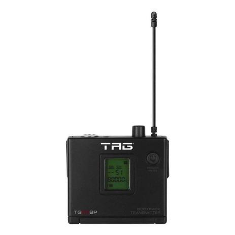 Imagem de Tag Sound - Transmissor Bodypack Sem Fio Frequência UHF TG88 BP