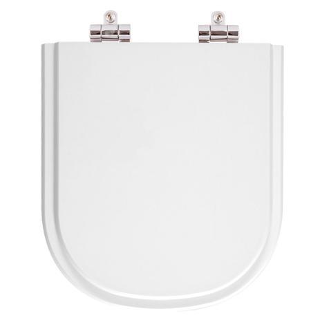 b6a7179fa Tampa de Vaso Sanitário com Amortecedor Vogue Plus Branco para bacia Deca -  Pontto lavabo