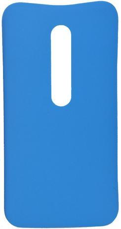 Imagem de Tampa Protetora Traseira para Motorola Moto G3 Azul