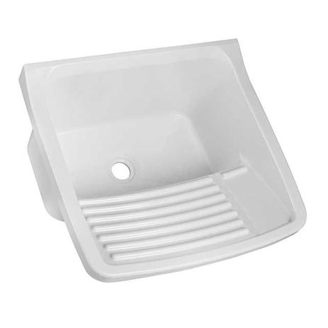 Imagem de Tanque lavanderia de plástico 15 litros branco Astra