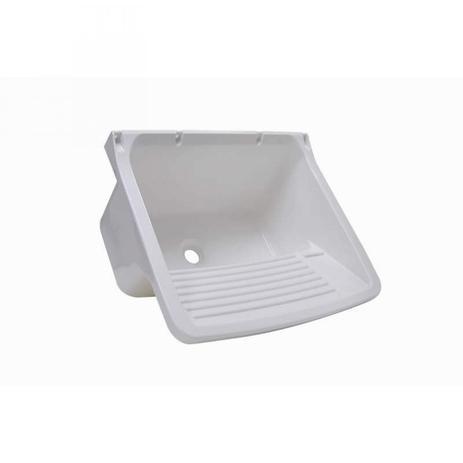Imagem de Tanque Simples para Lavar Roupas 24L Astra Branco