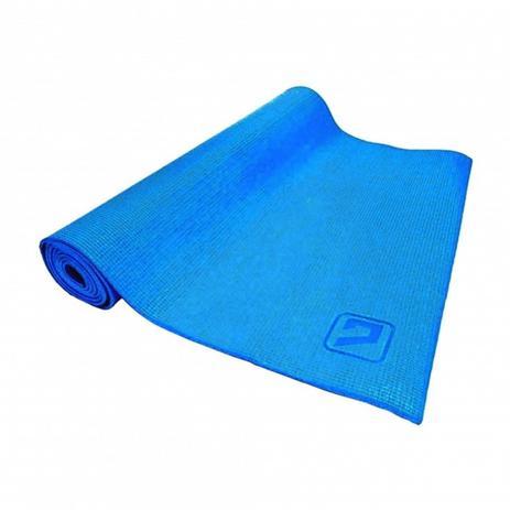 Tapete Colchonete de Yoga em EVA Simples Azul LiveUp LS3231B ... f4fa7487bd52