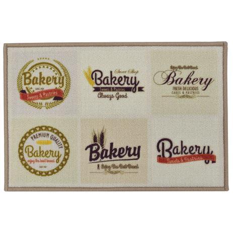 2e5f267de Tapete de Cozinha 40cm x 60cm - Bakery - Inter Home - Rozac - Tapete ...
