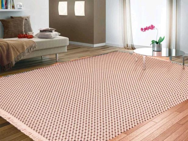 Imagem de Tapete grande sala / quarto 100% algodão antialérgico 2,00m x 1,40m