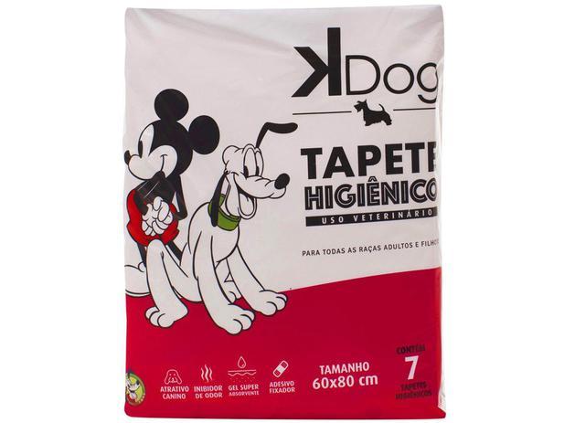 Imagem de Tapete Higiênico KDog Disney 80x60cm - 7 Unidades