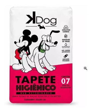 Imagem de Tapete Higiênico Kdog Mickey E Amigos Cães 80 X 60 Cm C/ 7un