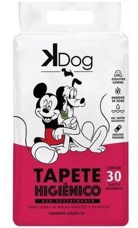 Imagem de Tapete Higiênico Kdog Mickey E Amigos Cães 80x60cm C/ 30un