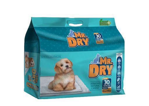 Imagem de Tapete Higienico Mr Dry 30 Unidades 80x60cm