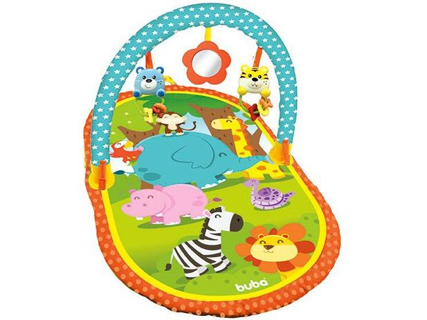 Tapete Infantil Baby Atividades Safari - Buba