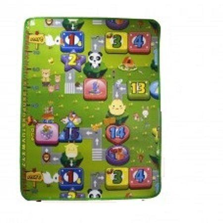Imagem de Tapete infantil de atividades bebe portatil dobravel termico