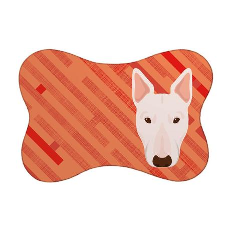 dd496c9fb Tapete PET Bull Terrier Vermelho - Mdecore - Cuidado com o Cachorro ...