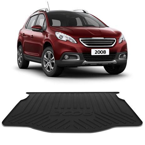 Tapete Porta Malas Bandeja Peugeot 2008 2015 a 2018 Preto Fabricado em PVC  com Bordas de Segurança - Requinte tapetes 78305843c2