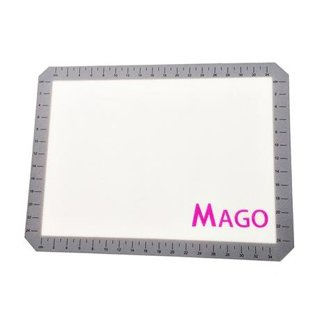 Imagem de Tapete Silicone Fibra de Vidro Antiaderente suspiros Biscoitos Macarons