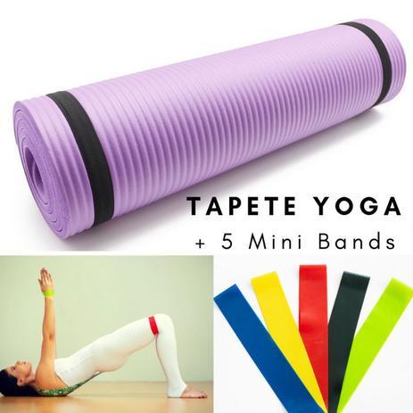 f75996930 Tapete Yoga + 5 Mini Bands - Pbk sports - Acessórios Fitness ...