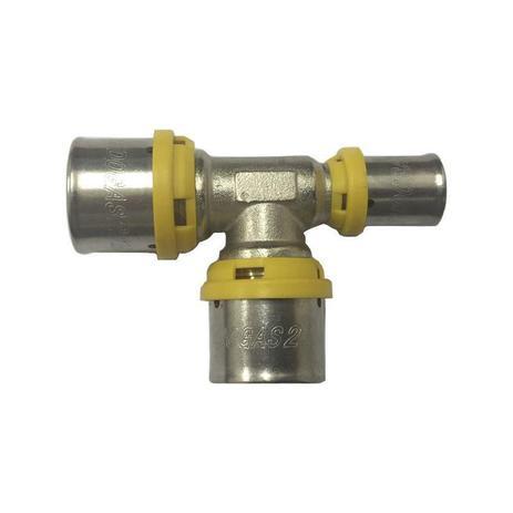 Imagem de Te Redução para conexões de gás 26 X 26 X 16 mm Tudogás
