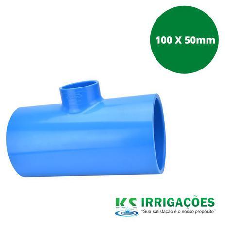 Imagem de TE REDUÇÃO SOLDÁVEL 100 X 50mm