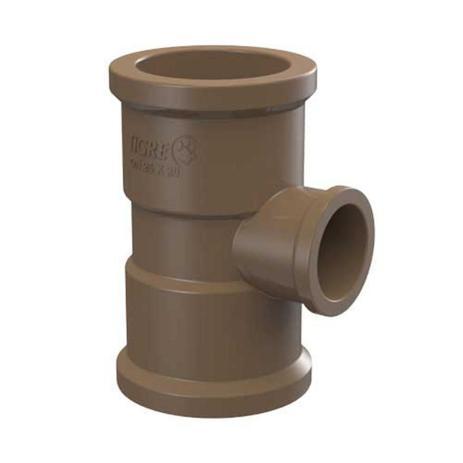 Imagem de Te Redução Soldável Água Fria marrom 32X25