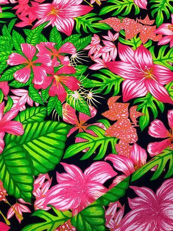 Imagem de Tecido para decoração Gorgurinho floral rosa