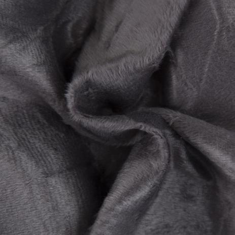 Imagem de Tecido Para Sofá e Estofado Veludo Amassado 05 Chumbo  Largura 1,40m