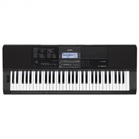 21d66e2aec7 Teclado Arranjador Musical 61 Teclas Ctx-800 Casio Com Fonte ...
