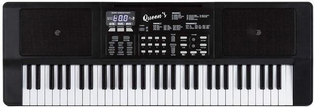 Imagem de Teclado Musical Para Iniciantes 61 Teclas - Queen's