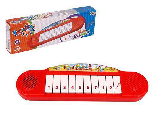 Imagem de Teclado piano musical infantil ted