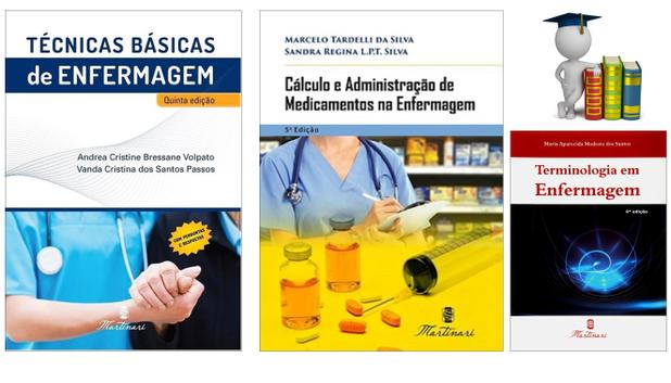 Imagem de Técnicas Básicas + Cálculo E Adm Medicamentos + Terminologia em Enfermagem