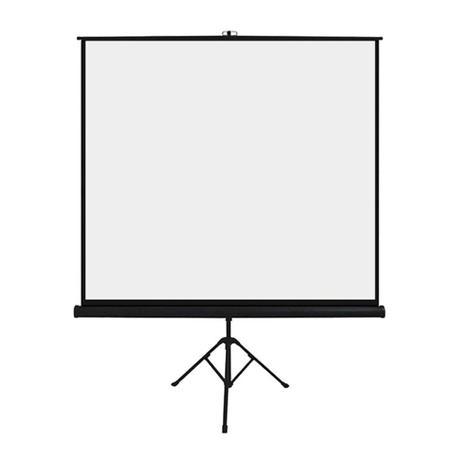Imagem de Tela De Projeção C/ Tripé 1,80x1,80m 97 Polegadas Retrátil - AC354
