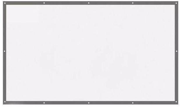 Imagem de Tela Telão De Projeção Dobrável Colavel Lona 100 Polegadas 2 x 1,40