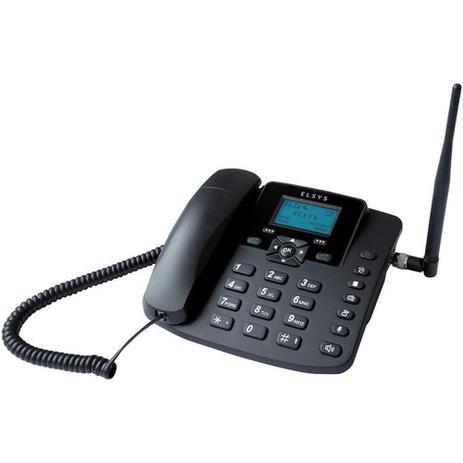 Imagem de Telefone Celular de Mesa Quadband Gsm Epfs12 Dual Chip Elsys