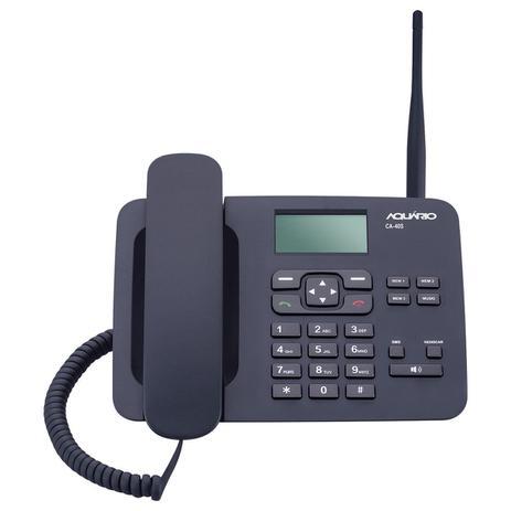 Imagem de Telefone Celular Fixo de Mesa Aquario CA40S Quadrib 850 900 1800 1900MHz