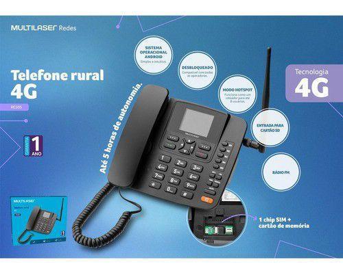 Imagem de Telefone Celular Rural Roteador 4g Wifi Mp3 Radio Fm Re505