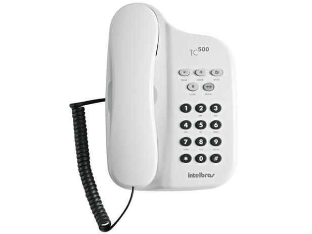 Imagem de Telefone Com Fio Intelbras TC 500