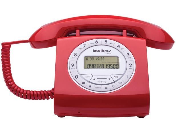 Imagem de Telefone Com Fio Intelbras TC 8312