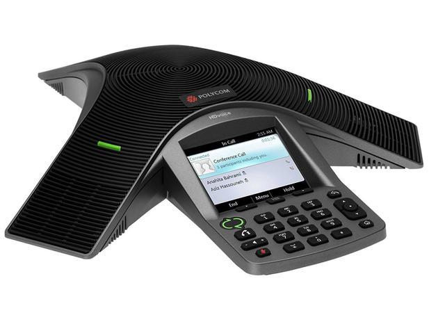Telefone Com Fio Polycom CX 3000 Microsoft Lync - Viva Voz Charcoal