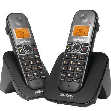 Imagem de Telefone Sem Fio Com Ramal Identi Chamada TS 5122 Intelbras