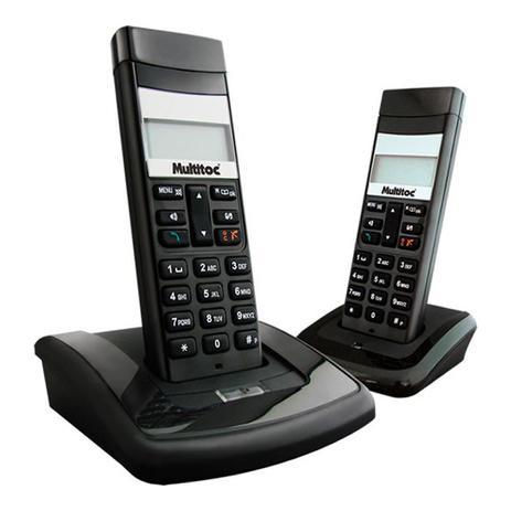 Imagem de Telefone Sem Fio Com Ramal Multitoc Dect Back