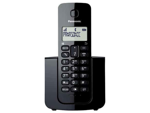 Imagem de Telefone Sem Fio Dect 6.0 Kx-tgb110lbb Panasonic Bivolt