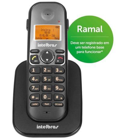 Imagem de Telefone Sem Fio Intelbras TS 5121 Ramal 1,9 GHz DECT 6.0