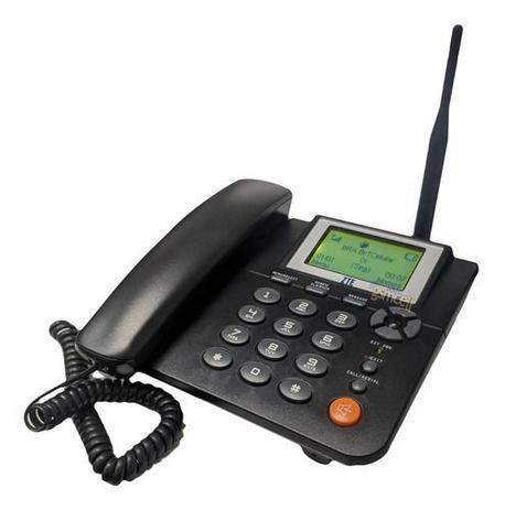 Imagem de Telefone Zona Rural Celular Fixo Mesa Gsm Chip ZTE WP623
