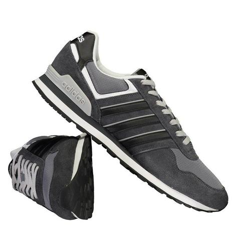5b140b165bb30 Tênis Adidas 10K Masculino - Cinza - Tênis Feminino - Magazine Luiza