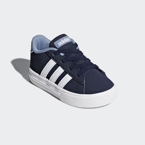 99ac63cb15 Tênis Adidas Daily 2.0 Infantil - Azul Escuro - - - Magazine Luiza