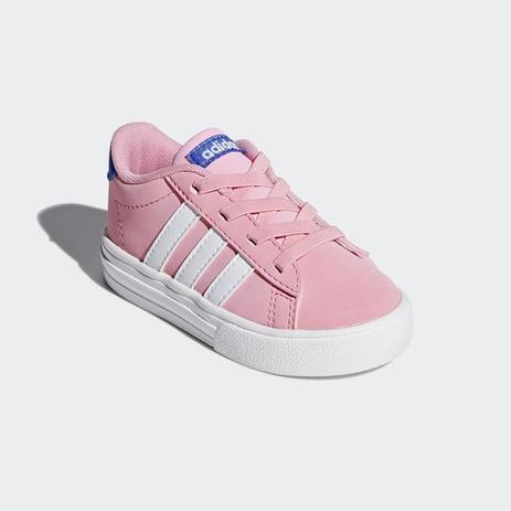 56b57fba586 Tênis Adidas Daily 2.0 Infantil - Rosa - Calçados para Bebês e ...