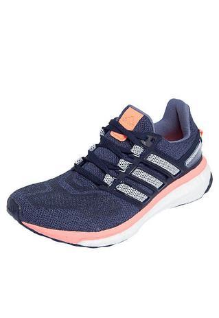 8be238a50 Tênis Adidas Energy Boost 3 Feminino - Marinho e Branco - Tênis de ...